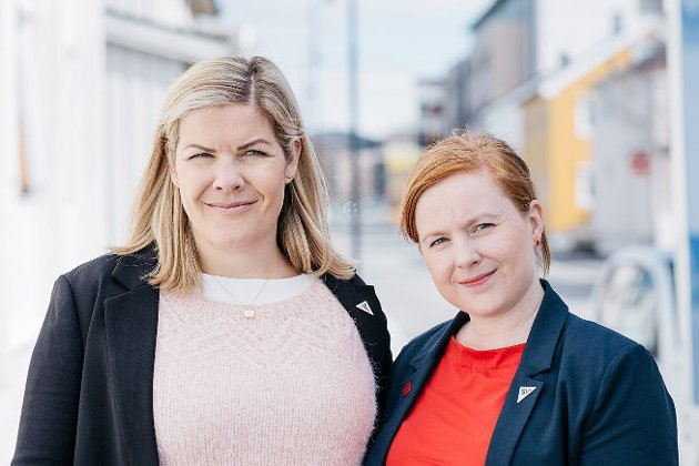 Fra venstre: Aase Refsnes og Åshild Pettersen.