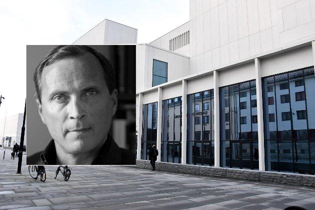 Morten Strøksnes skriver om Stormen konserthus.