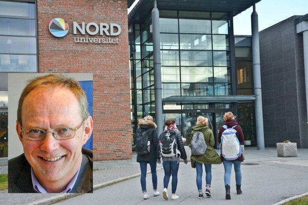 Universitetet kommer framover til å ha en liknende vekst som den vi har hatt de 10 første årene., mener Pål Pedersen.
