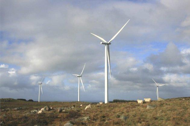 Nødvendig: Byggingen av Høg-Jæren vindkraftverk er et av mange tiltak som er nødvendig for å redde klimaet og naturen, ikke en trussel mot dette. Foto: Torstein Thorsen Ekern