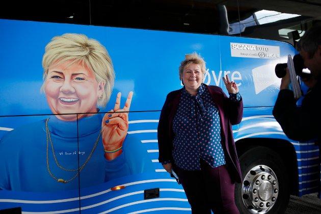 Det er ikke vanskelig å stemme for at Erna får fire nye år som statsminister.