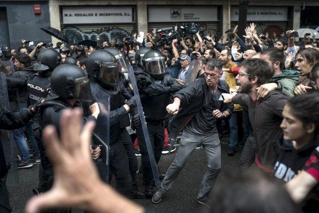 Spansk politis opptreden under folkeavstemningen om Catalonias løsrivelse fra Spania har fått kritikk. I dagens spalte minnes Erling Gjelsvik årene han selv bodde i Barcelona og fikk