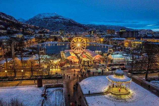 Julemarkedet på Festplassen har hatt en knallstart denne helgen.