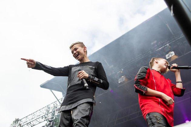 Marcus og Martinus på Osfest i 2016.