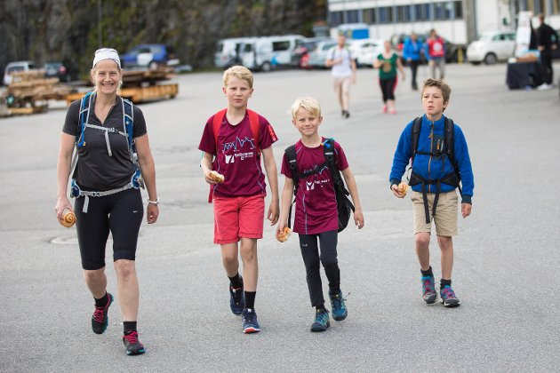 7-fjellsturen Start fra Gravdal