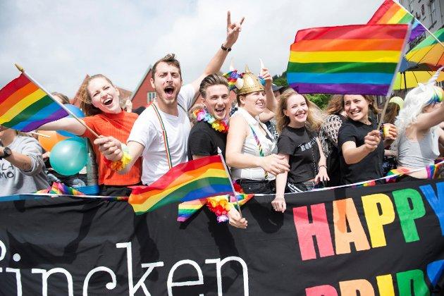Pride 2017, regnbuedagene i Bergen