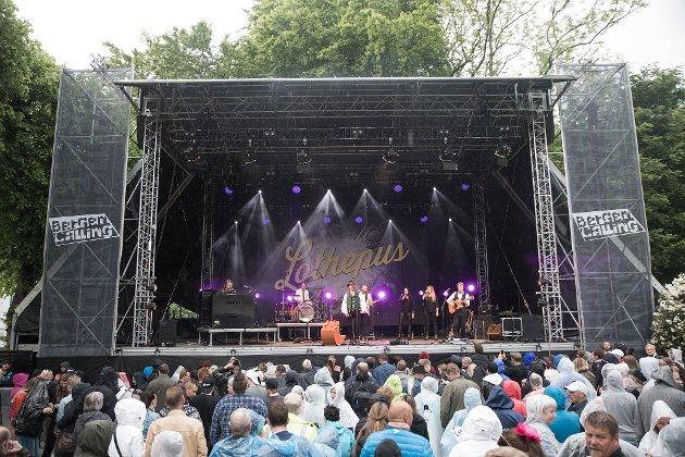Lothepus, Bergenhus Festning, lørdag 3. juni
