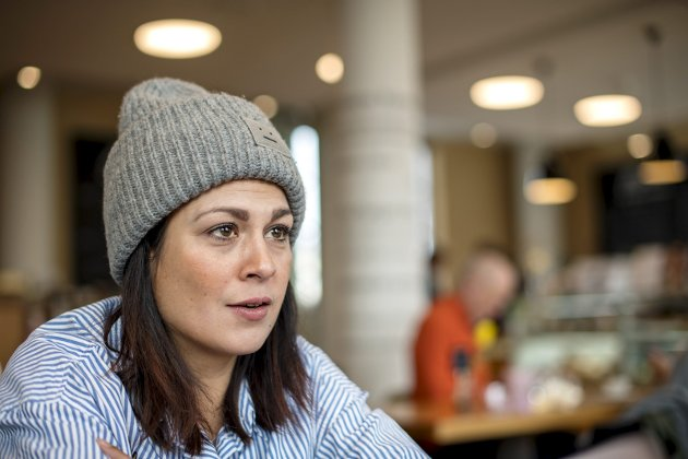 Camilla Ahamat (biletet) var ein av initiativtakarane til innsamlingsaksjonen til inntekt for Leger uten grenser.