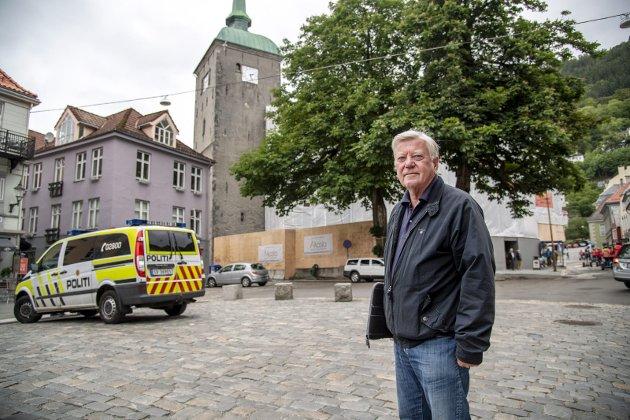 Erling Gjelsvik er enig med Frp-politiker Eiler Macody Lund (bildet), som mener rusmiljøet i området rundt Vågsbunnen må brytes opp.
