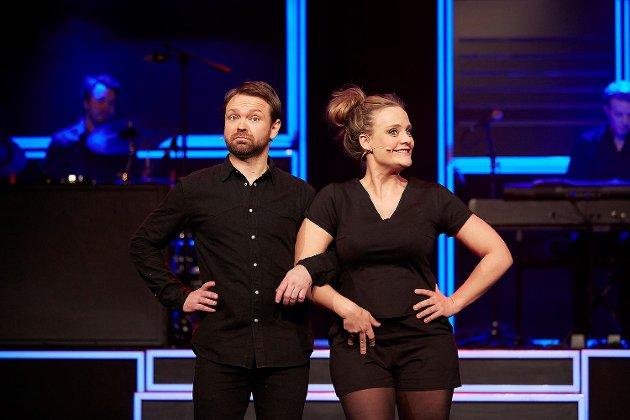 John Brungot og Henriette Stenstrup på Ole Bull Scene.