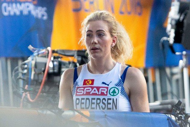 Isabelle Pedersen røk ut i semifinalen med en skuffende tid.