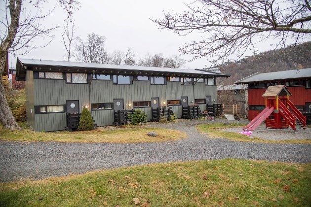 De 147 enhetene i studentbyen på Nattland ble bygget i årene 1968–1970. Området består av 20 grønne, gule og røde rekkehus.
