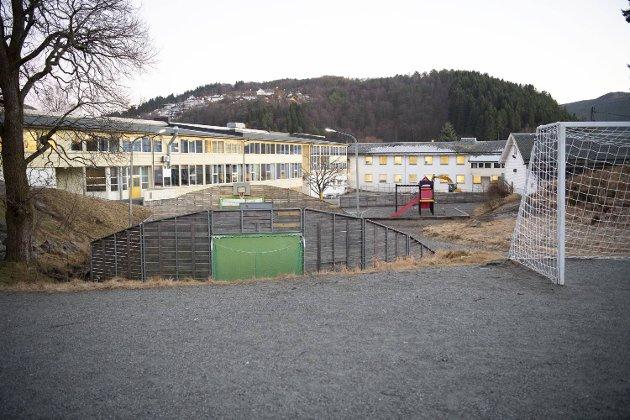 Kyrkjekrinsen skole.