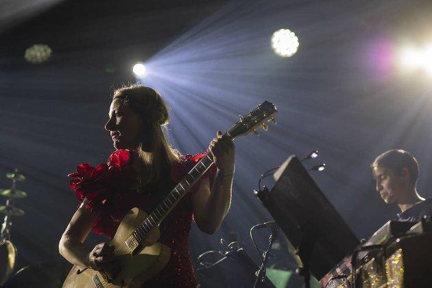 Hedvig Mollestad imponerte BA sin anmelder da gitaristen fra Ålesund fremførte det 38. Tingingsverk på Vossa Jazz.