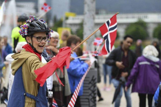 OL for sykehjem på Festplassen.
