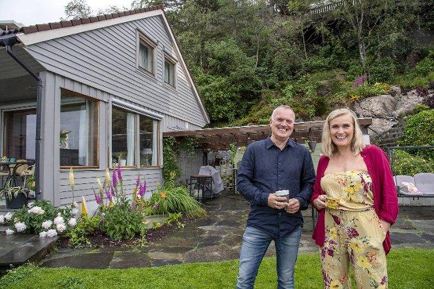 Elisabeth Heggland Urø og mannen Rolf Kåre Urø arvet eiendommen i Biskopshavn etter hennes farmor. Huset ble ombygd fra hytte til hus i etterkrigstiden.
