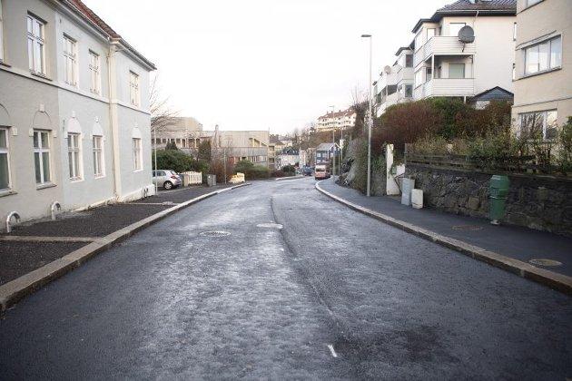 – Resultatet av nye Ibsens gate er et skremmende eksempel på hvordan det ikke skal gjøres, skriver Træland. FOTO: ARNE RISTESUND