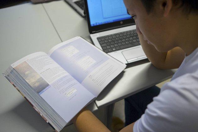 Selvsagt har engelsk en verdi gitt statusen som verdensspråk, men hva er viktigst for disse elevene som først og fremst skal lære seg norsk? skriver innleggsforfatteren. Illustrasjonsfoto: NTB/Scanpix