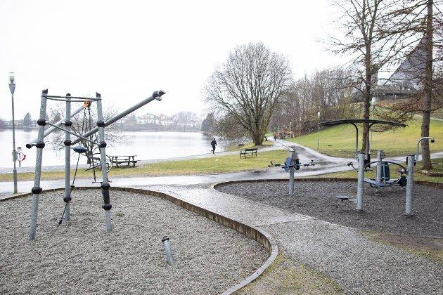Tufteparken ved Tveitevannet på Slettebakken.