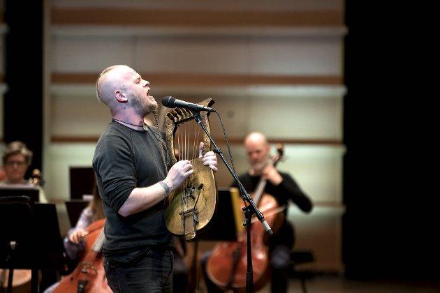 Einar Selvik spilte musikk inspirert av norrøn kultur