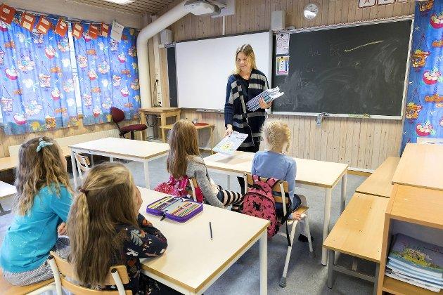 – Jeg kommer ikke til å ønske meg barn før skolen blir bedre, summer en tidligere lærer. (Illustrasjonsfoto)