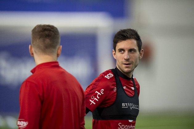 Daniel Pedersen blir en nøkkelmann for Brann i 2020, mener Mathias Macody Lund.