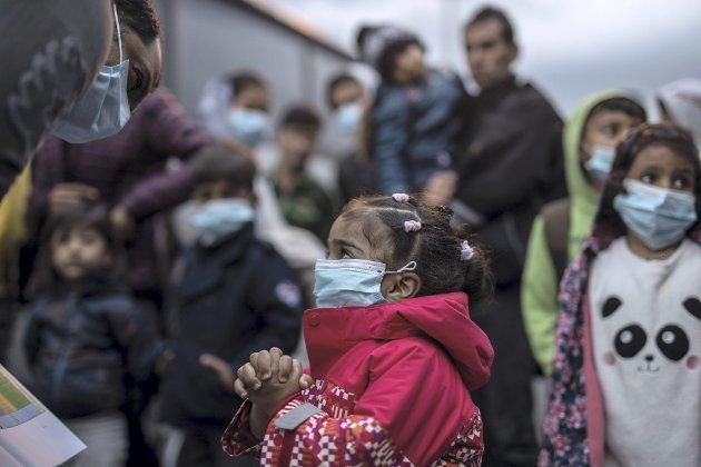 – Det er en skam at regjeringen ignorerer ropene fra frivillige og våre egne byer som vil ta imot barn fra Moria-leiren. Foto: NTB/Scanpix
