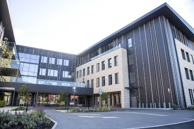 Det nye sykehjemmet har 120 plasser, og de første beboerne flytter inn 21. september.