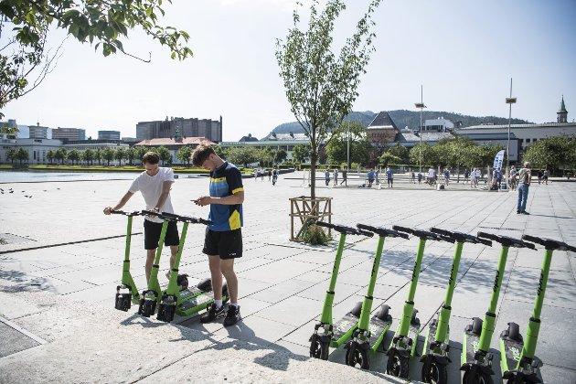 – El-løperhjulene er kommet for å bli, men alt nytt trenger modningstid i samfunnet. FOTO: AGNIESZKA IWANSKA