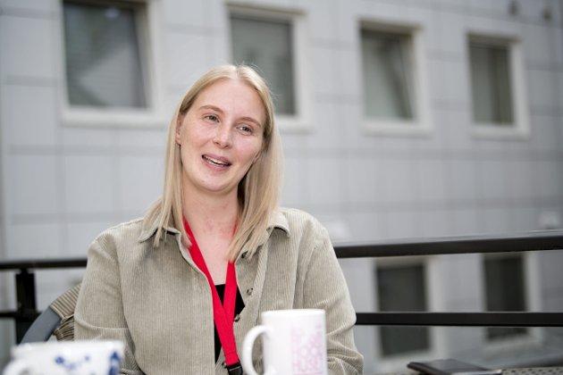 – Bare i Bergen vokser nærmere 5000 barn opp i fattige familier. Gjennom 2020 har vi sett hvordan mange barnefamilier har fått det enda mer krevende. Det er på tide at fattigdomsutfordringene blir tatt på alvor, skriver Madelen Skogman. Foto: Skjalg Ekeland