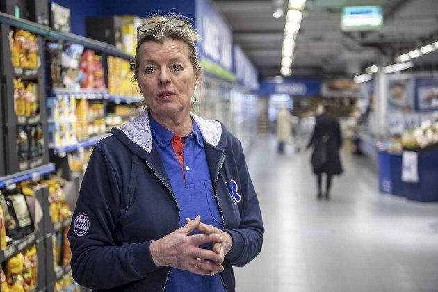 Behold Rema1000 og Rema-kjøpmann Møyfrid Tysdal på Laksevåg senter!