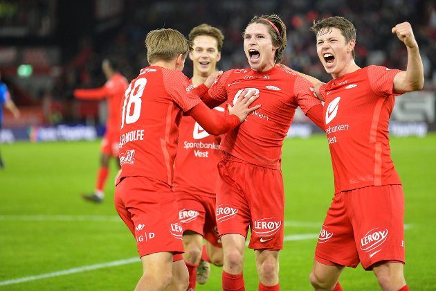 Kasper Skaanes' overtidsscoring sørget for Brann tok ett poeng hjemme mot Stabæk.