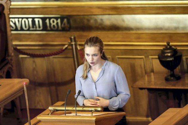 Mathilde Tybring-Gjedde sa til NRK at det var krevende å avgjøre at eksamen skulle avlyses. FOTO: VIDAR RUUD, NTB