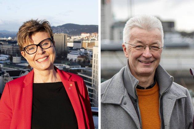 – Vi ber Vestlandsbenkane på Stortinget gjera jobben som næringslivet og fylkeskommunane ber om: Få Eksportfinansiering hit! skriver Anne Gine Hestetun og Jon Askeland.