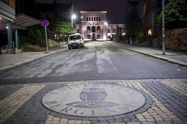 Universitetet i Bergen mener det ikke er i tråd med klimaprofilen å eie aksjer i oljeselskaper. FOTO: EMIL WEATHERHEAD BREISTEIN
