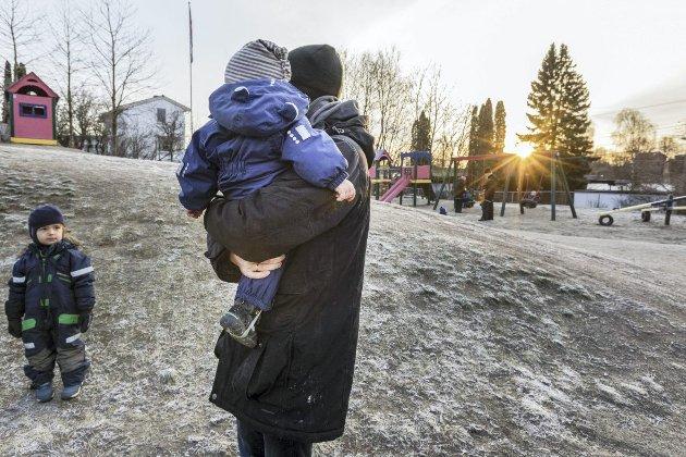 Alle barn bør være hjemme med rennende nese, ber den barnehageansatte. Illustrasjonsfoto: Gorm Kallestad, NTB