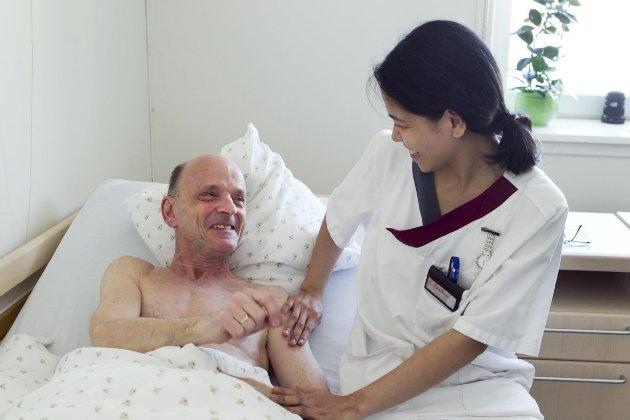 – Man rekker ikke den gode samtalen med pasienten, man rekker ikke å kunne le så lenge man vil. ILLUSTRASJONSFOTO: HEIKO JUNGE, NTB