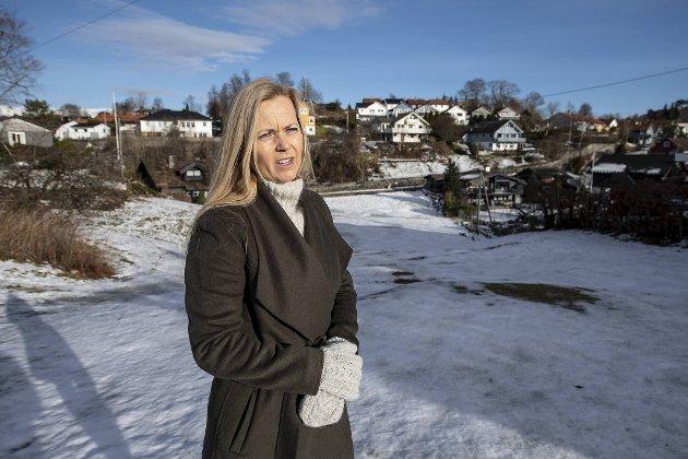 Birte Skjold Hansen får ikke lov til å bygge.