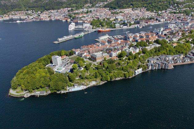 – Det er nå vi må følge med. Bergen trenger grønne utearealer nær sentrum. Og Nordnesparken kan nå bli utvidet – hvis politikerne virkelig mener alvor. Arkivfoto: BA