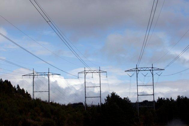 Vestland er landets største kraftfylke, men manglende kapasitet i nettet gjør at flere store industriprosjekter får nei på grunn av begrensninger på strømleveranser. ARKIVFOTO: RUNE JOHANSEN