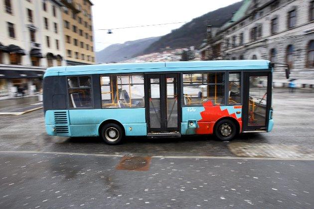 – I bystyret i denne uken stilles spørsmål fra bystyremedlem Cesilie Tveit om gratisbussen kan komme                         tilbake. Det jubler jeg for!  ARKIVFOTO: EIRIK HAGESÆTER