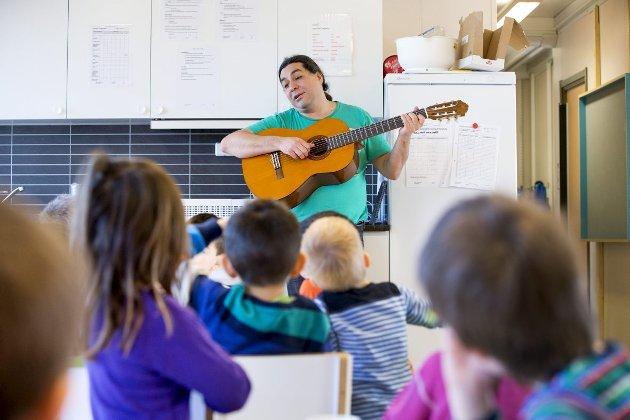 – Regjeringen har gitt signal om at vi ønsker at kommunene prioriterer ansatte i barnehage, skole og SFO. Foto: Gorm Kallestad, NTB