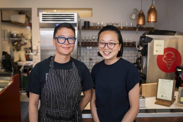 She Fah Szetu og ektefellen May Yee Tee vil gjerne lage enda mer is i Skostredet, for etterspørselen etter hjemmelaget is bare øker.