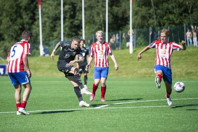 Brann fikk slite mot Fana i cupen, men vant til slutt 3-0 på Varden Amfi.