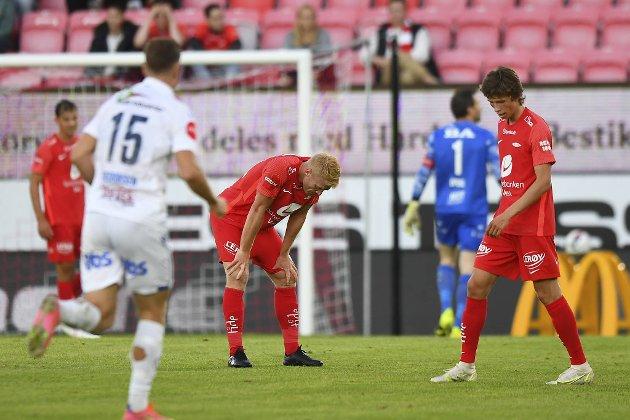 Det ble blytungt for Brann mot Haugesund på Stadion lørdag.