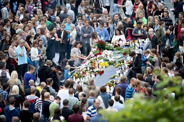 – AUF ba om et oppgjør med de ekstreme holdningene som førte til terroren på Utøya. Dette er dessverre ikke ett oppgjør, men en lang historisk kamp. ARKIVFOTO: Skjalg Ekeland