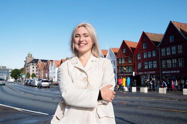 Nasjonalt vil vi øke finansieringen, og lokalt jobber vi for at den skal gå i tunnel i Bergen sentrum,  skriver  Marhaug.