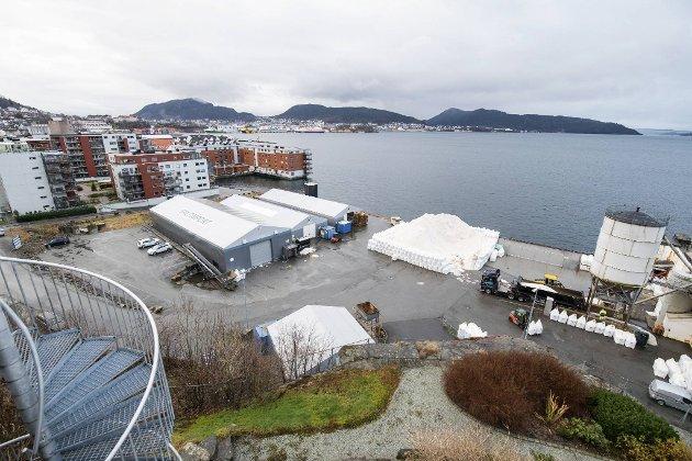 Kommunen har foreslått å lage en fraktetunnel fra Fløyfjellstunnelen til Saltimport-tomten.