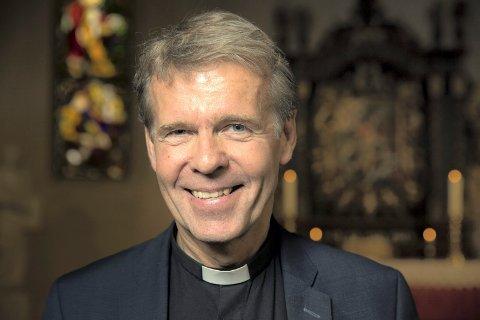 """Per Arne Dahl er biskop i Tunsberg og skriver spalten """"Bispeveien"""" en gang i måneden."""