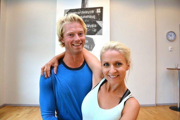 Skal vi danse på TV2 - høsten 2016: Eilev Bjerkerud danser sammen med Nadya Khamitskaya.